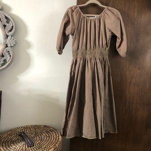 VINTAGE/ cotton peasant dress